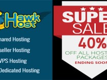 Latest HawkHost coupon for save 40% hosting in March 2017
