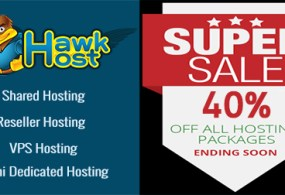 Latest February HawkHost coupon for save 40% web hosting
