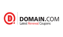 Domain.Com coupon for save up to 20% on domain renewals