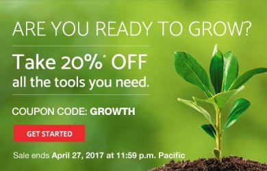 domain.com 20% off april coupon