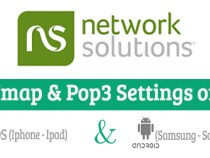 Network Solutions Imap & Pop3 Settings on Mobile Devices