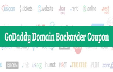 godaddy domain backorder coupon
