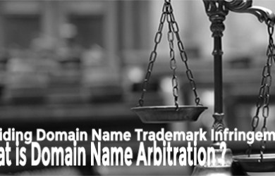 domain name trademark infringement and arbitration