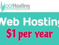 Shock Price: Web hosting starting at $1/year at WootHosting