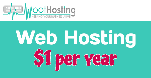 Shock Price: Web hosting starting at $1/year at WootHosting