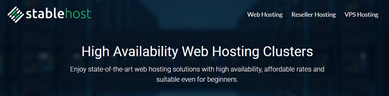 StableHost Special Offer: $20/year Web Hosting Unlimited Pro Plan
