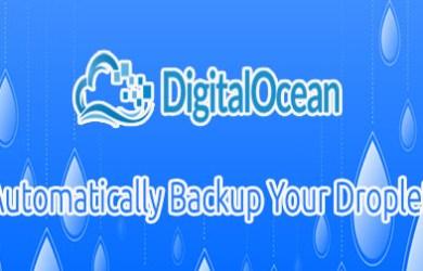 digitalocean backup your droplets