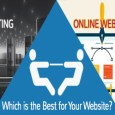 web hosting vs website builder comparison