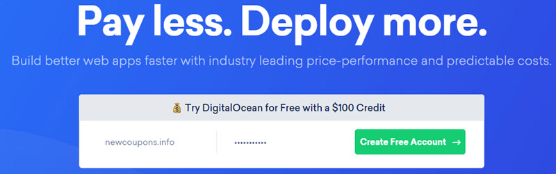 4 Ways To Get Free VPS On DigitalOcean