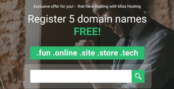 Specials – Get Free Domain Names at StableHost