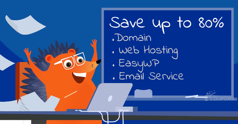 NameCheap's Back To School Deals - Save 80% Domain, Hosting, EasyWP, Email Services
