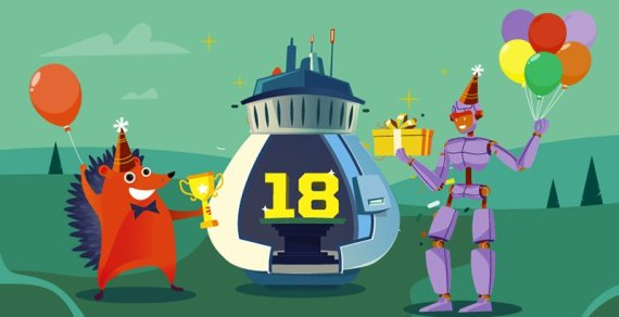 NameCheap 18th Birthday Deals- Save 18% on Renewals, $8.88 .COM Registrations