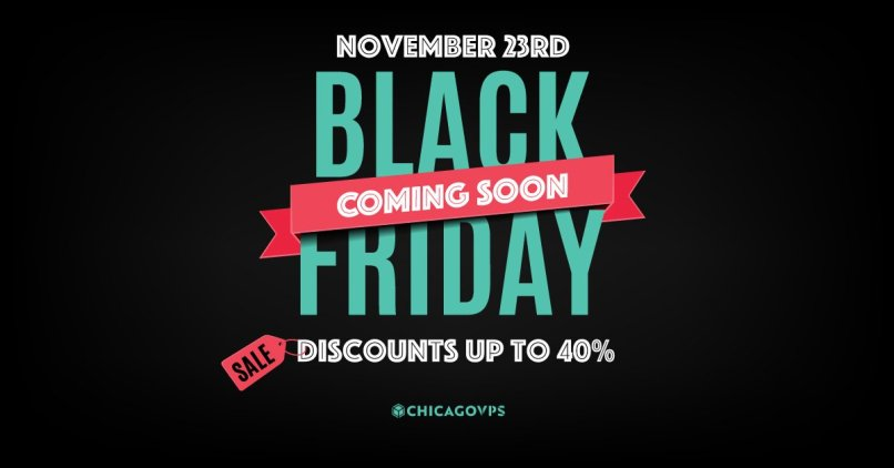 ChicagoVPS Black Friday and Cyber Monday 2018 Deals