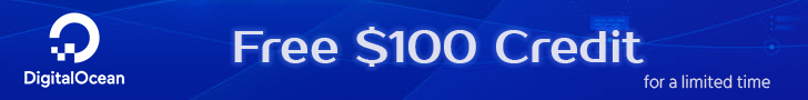 Get Start at DigitalOcean with $100 Free Credit Now