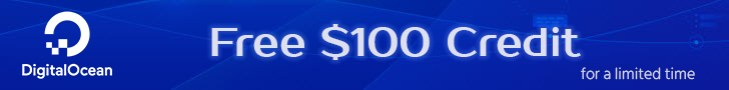 Free $100 DO Credit When Signup