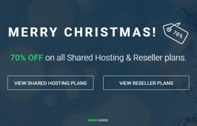 Stablehost 70 off Merry Christmas Deal