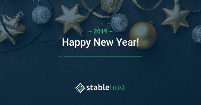 Happy New Year - Stablehost Gives You a 70% Off Web Hosting