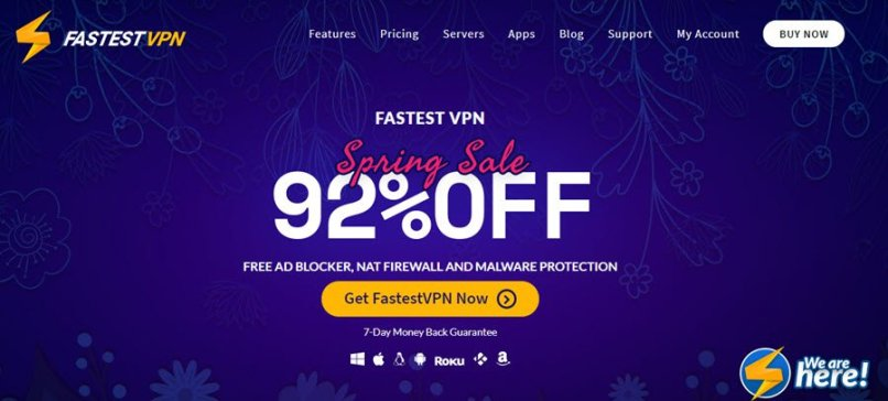 96% OFF | $14.99 FastestVPN Lifetime Coupon December 2020