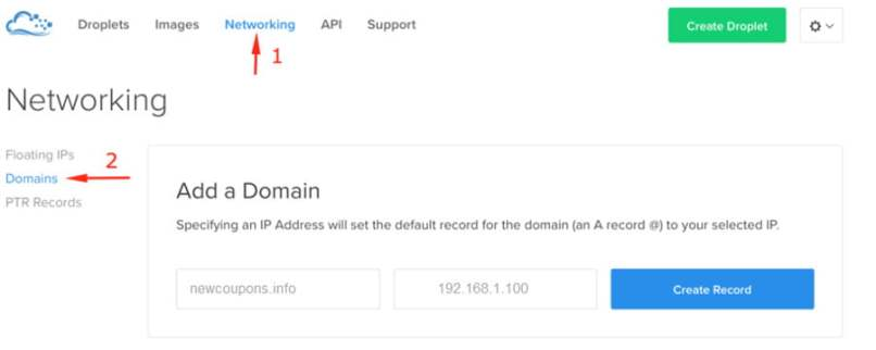 How To Point Domain From NameCheap To Digitalocean