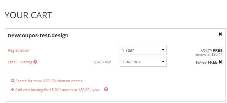 Porkbun - Get .DESIGN Domain + Email Hosting For FREE