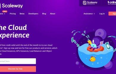 Get euro500 credits at Scaleway