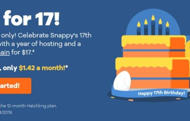 HostGator 17th Birthday Deals