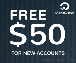 Get Free $50 Credit At DigitalOcean