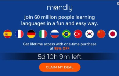 mondly lifetime subscription offer