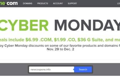 name.com black friday cyber monday sale