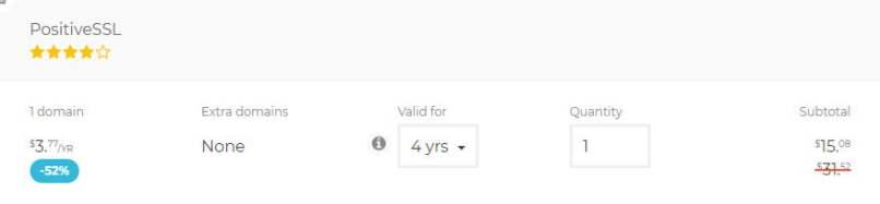 SSLs - Cheap SSL Certificates For Only $3.77/Year