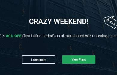 80% OFF Stablehost Crazy Sale