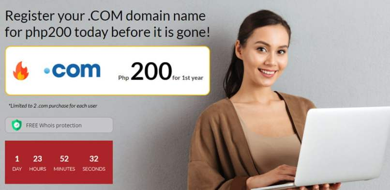 Z.Com Philippines - $3.93 .COM Registration Offer