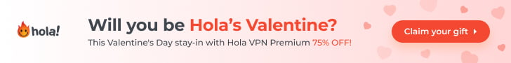 94% OFF | $39 Hola VPN Plus Lifetime Offer On March 2021
