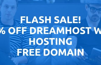 dreamhost 63% off web hosting