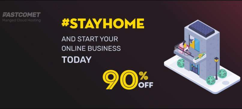 FastComet $1 Web Hosting Offer - Up To 90% OFF