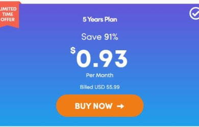 Ivacy VPN 5 Year Plan Coupon