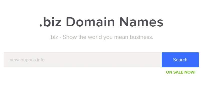 Name.Com - Get Unlimited .BIZ For $2.99 Each - Free Whois