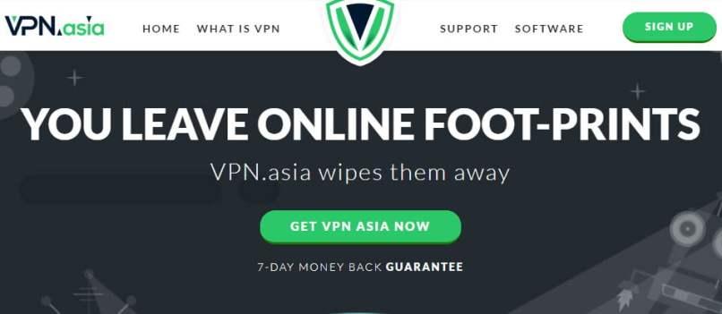 96% OFF VPN.ASIA Lifetime Account Offer On September 2020