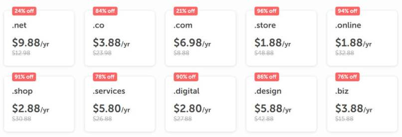 Small Business Month At NameCheap - 96% OFF Domain & Hosting