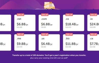 namecheap domain transfer special sale