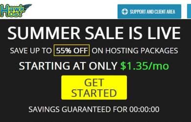 hawkhost summer sale