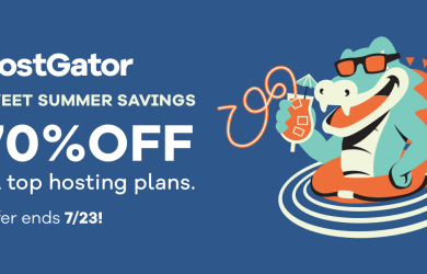hostgator summer savings 70% off