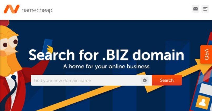 NameCheap - Register .Biz For 99 Cent, Free Whois Privacy