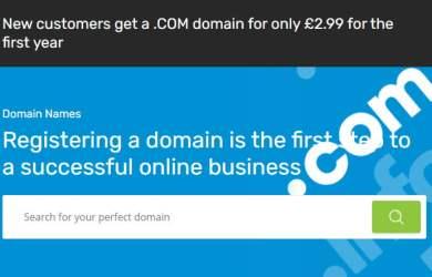123 reg offer .com for £2.99