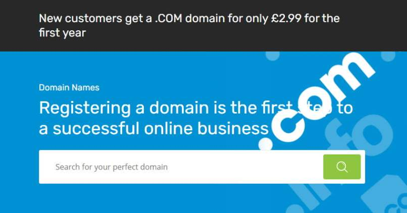 Grab Your .COM For £2.99 From 123-Reg - Free Whois Privacy