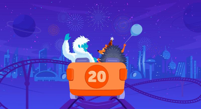 Namecheap's 20th Birthday Anniversary Sale