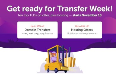 NameCheap - 50% OFF Domain Transfer Sale - 65% OFF Hosting