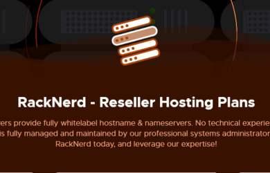 racknerd reseller hosting