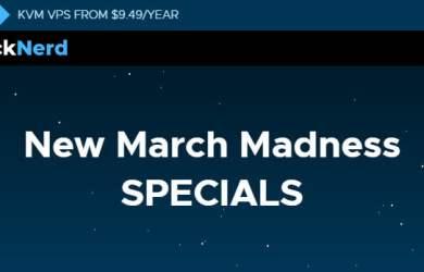 RackNerd March Madness Deals