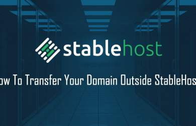 How To Transfer Your Domain Outside StableHost?
